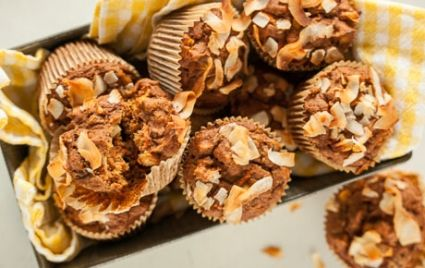 Lightened-Up Whole Grain Morning Glory Muffins | Whole Foods Market