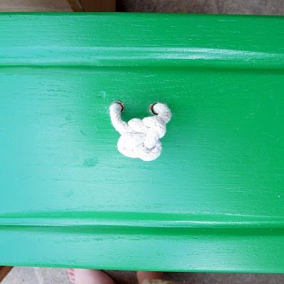 Cute rope knot pulls! And cheap! | For the Home | Pinterest