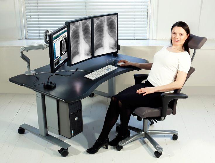 Biomorph Desk - Level2 PACS | Home Furnishing - Office | Pinterest