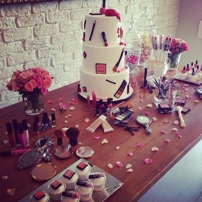 parties makeup themed party