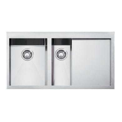 Franke Planar Undermount Double Kitchen Sink with Drainer Sinks ...