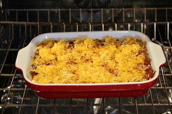 Beef and Bean Enchilada Casserole | Recipe Girl