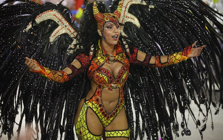 Patricia Shelida, destaque de chão da Unidos da Tijuca