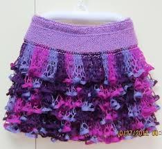 KNITTED RUFFLE PATTERN | Free Knitting Projects