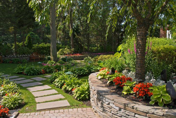 Decoraci n de jardines con piedras jardines para mi casa for Decoracion para jardin