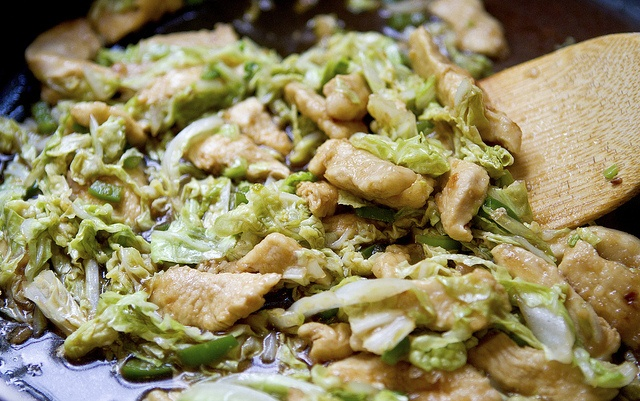 Stir-Fried Chicken with Bok Choy | Hey mom! Whats for dinner? | Pint ...