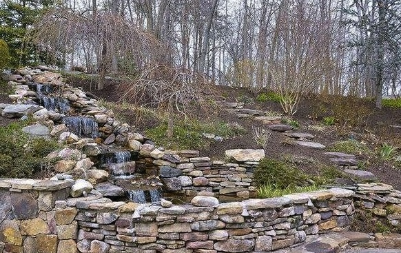 Backyard Hill Waterfall : Pin by Stacey Gray on Outdoors  Pinterest