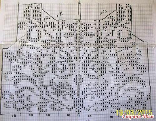 Схемы вязания моделей филейным вязанием 160