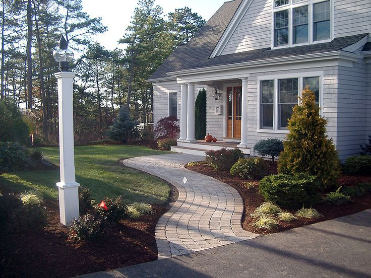 Pin by alyssa mcgraw on walkway pinterest for Landscaping rocks new plymouth
