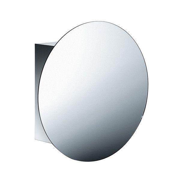 pika round mirror medicine cabinet