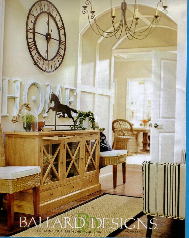 Ballard Designs HOME Rooms I Love Pinterest