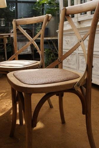 wicker chairs from Petersham nurseries