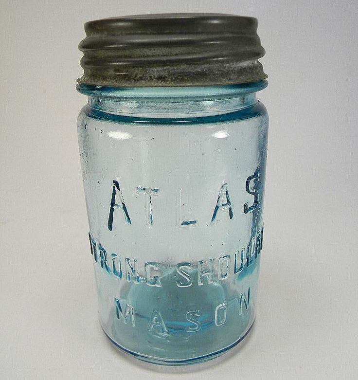 Atlas Strong Shoulder Mason Jar Hookup