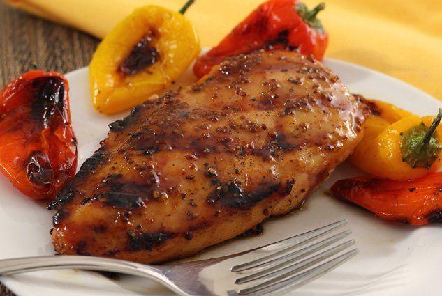 Paleo Maple & Mustard Glazed Chicken