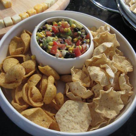 Avocado Corn Salsa Dip/Salad | Yummy food | Pinterest
