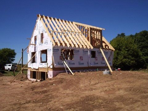 How to build a dormer on an existing roof