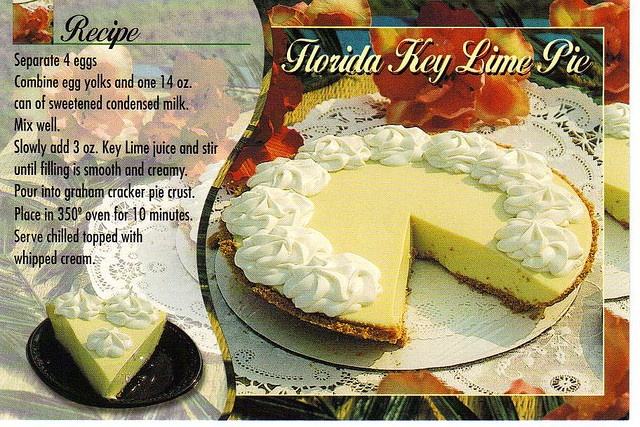 Florida Key Lime Pie recipe #GEFreshFL | GE Fresh | Pinterest
