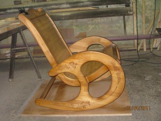 Кресла качалки своими руками из дерева фото