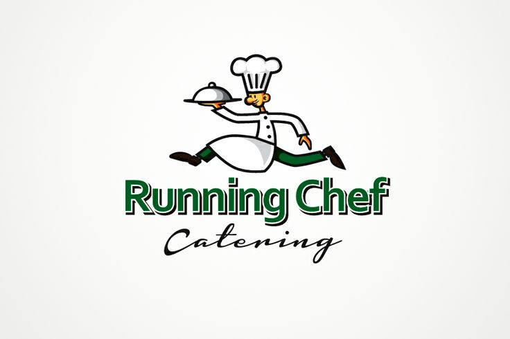 Logo Concept - Running Chef Catering : Logo concept 2014 ...