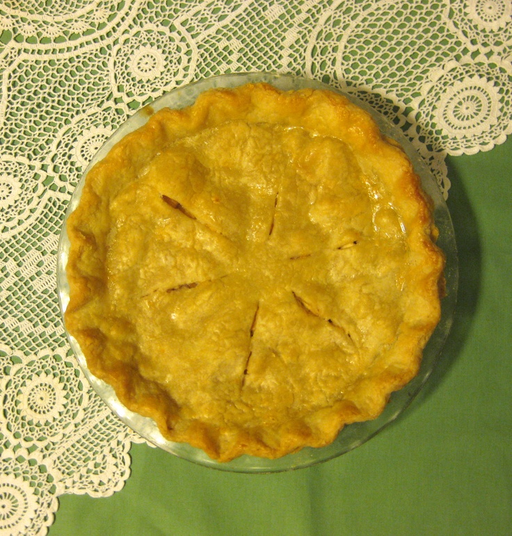 "Old Fashioned Apple Pie: ""How much sugar is that?"" ""This much ..."