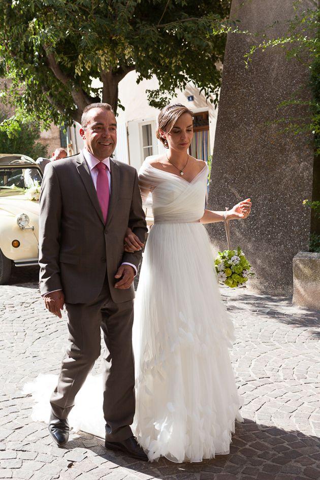de la mariée: ♥ Emilie & Pierre (FR) ♥ - Vrai mariage Robe ...