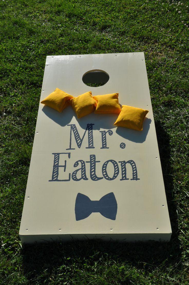 Custom Cornhole Board For Wedding