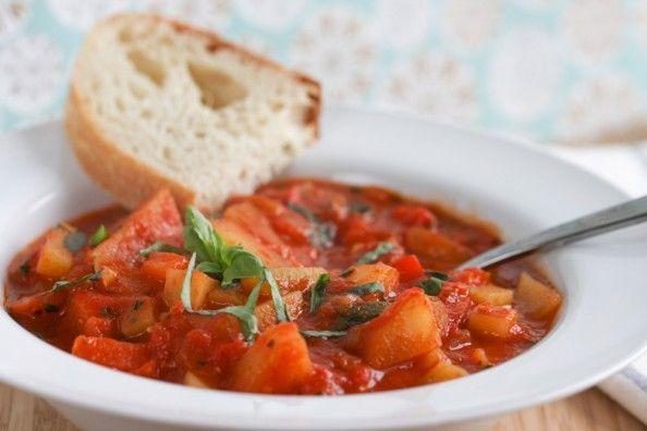 Italian Vegetable Stew | foodnfocus.com