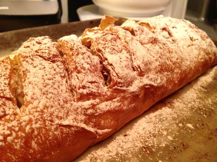 Homemade Apple Strudel | Just Recipes | Pinterest