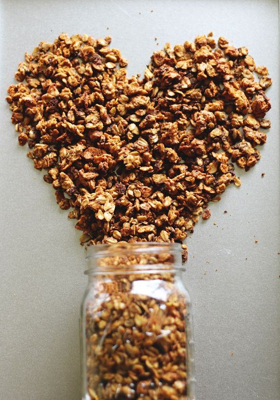 Skinny Peanut Butter Cookie Granola | Breakfast | Pinterest