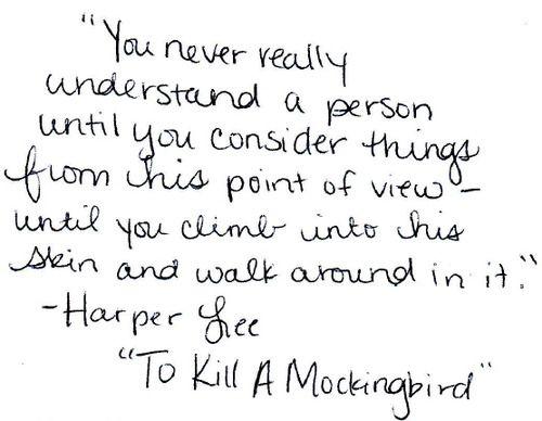 essay to kill a mockingbird maturity