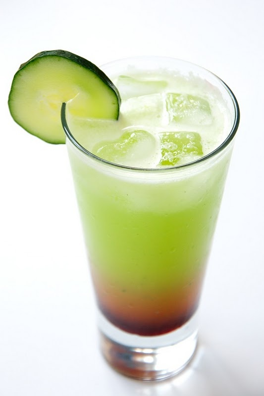... cucumber basil lemonade it is cucumber basil lemonade with lemongrass