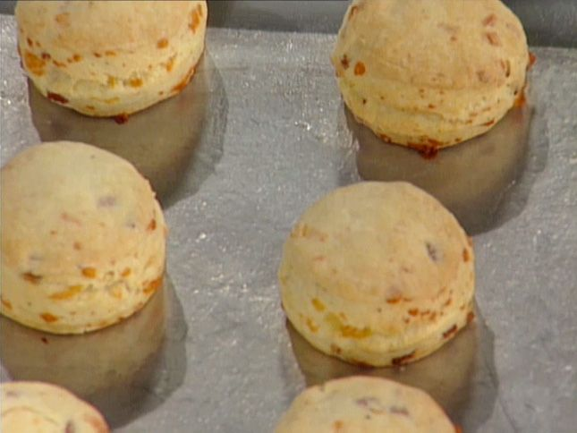 Country Ham and Cheese Biscuits from FoodNetwork.com