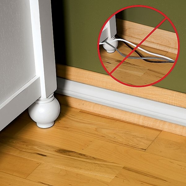 how to stop wires from curling