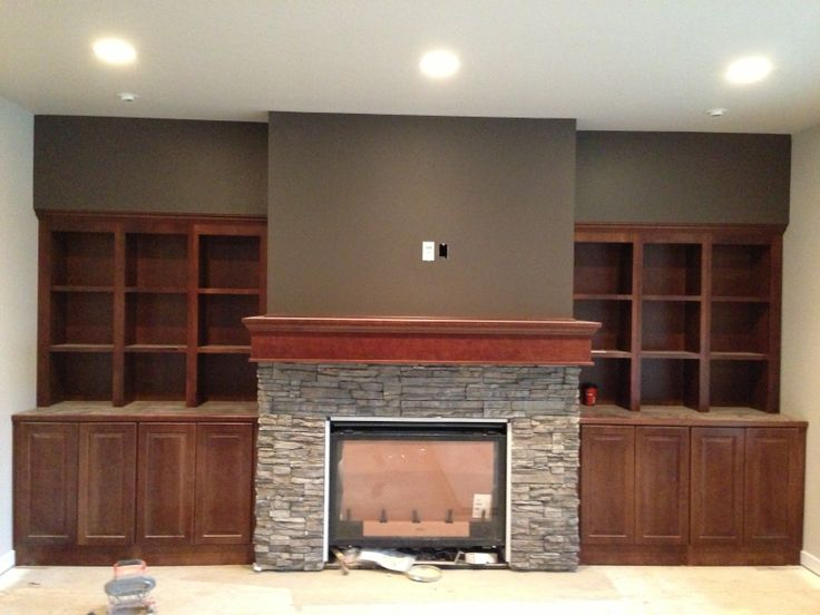 Fireplace/Built in cabinets : Home : Pinterest