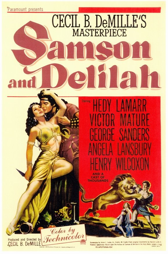 samson and delilah film essay