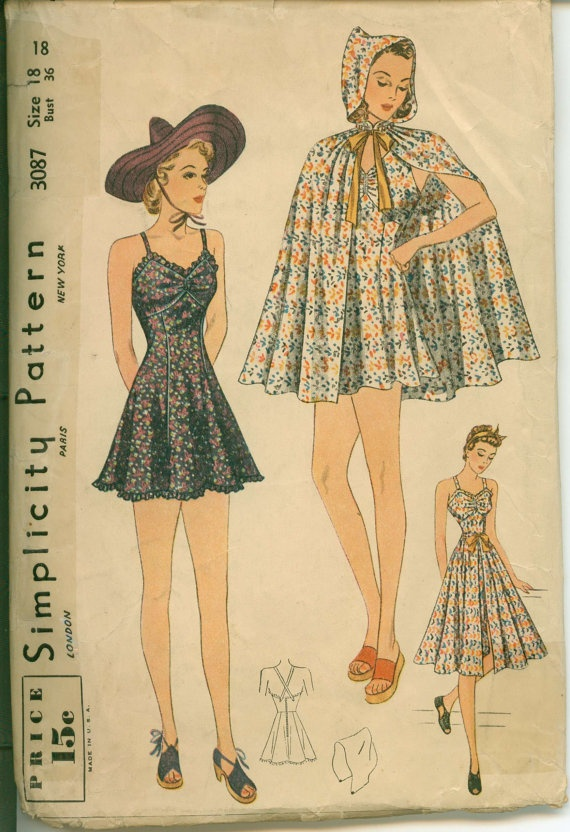 Early 1940's Sewing Pattern