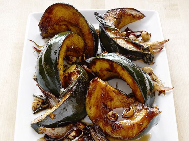 With acorn squash in season, roast it in balsamic vinegar and honey for a sweet-tart treat you're sure to love. #FNMag