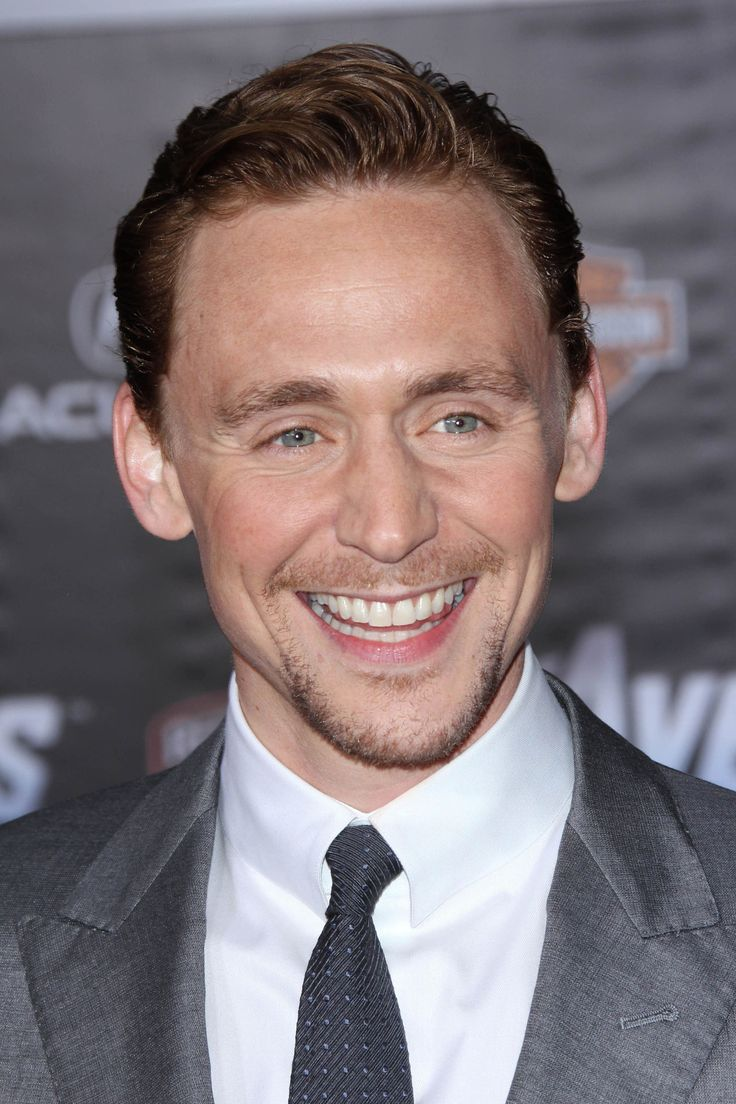 Oh, you know. Just Tom Hiddleston smiling like a rainbow god and showing bits of his tongue. It's nothing, really.
