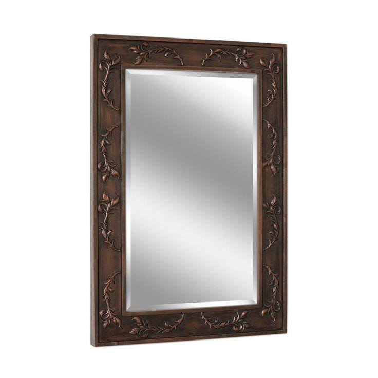 Classic Scroll Bronze Wall Mirror (1045) : Framed Mirrors : Pinterest