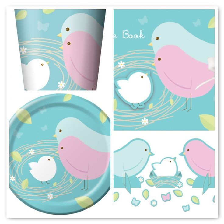 baby shower themes unisex baby shower theme with birds