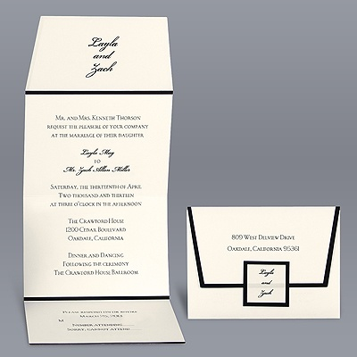Davids Bridal Invitation is great invitations layout
