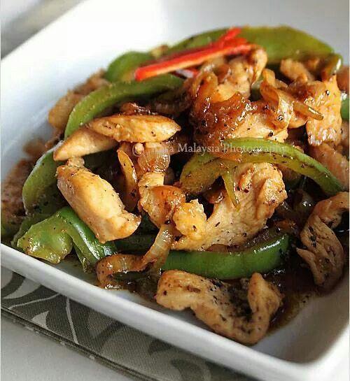 Black pepper chicken   Kulinary Gangsta   Pinterest