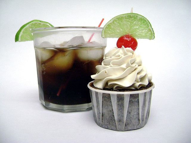Rum and Coke Cupcakes | Cakes/Cupcakes | Pinterest