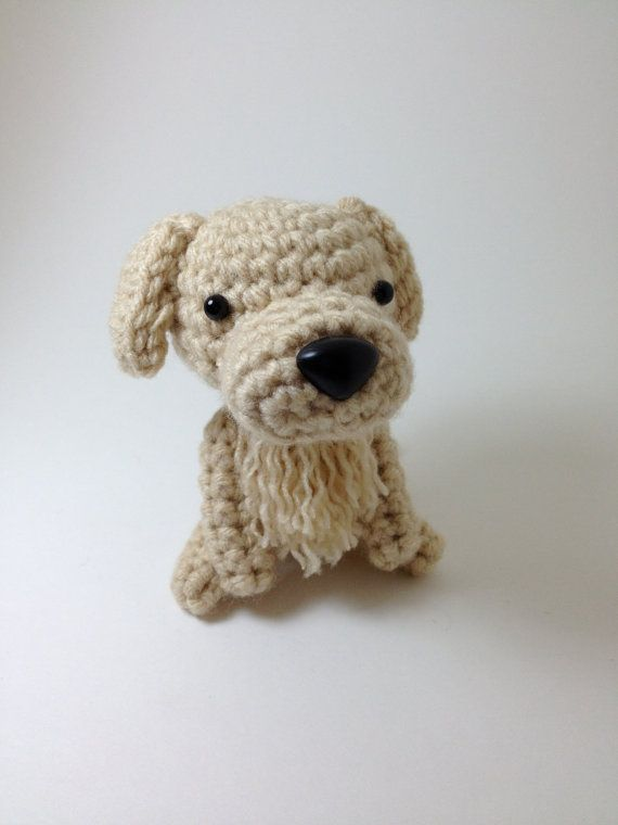 Amigurumi Golden Retriever Pattern : Pinterest: Discover and save creative ideas