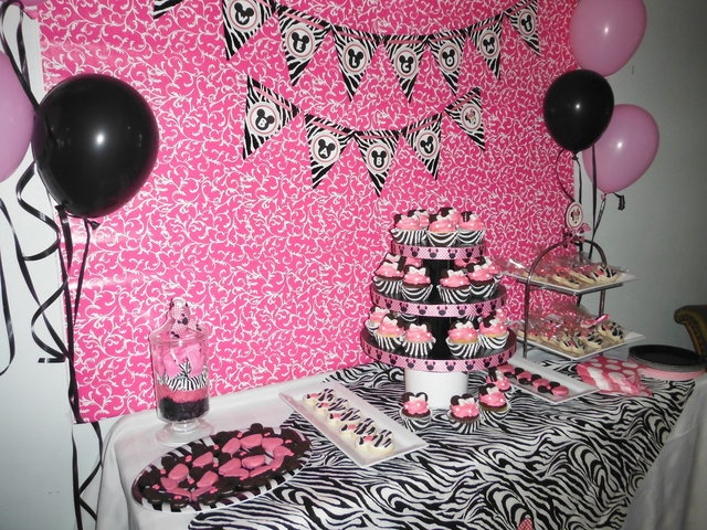 minnie mouse baby shower sip see co worker baby shower quot
