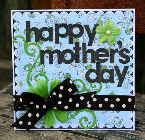 May 13 2009 think crafts by createforless Cute mothers day cards to make