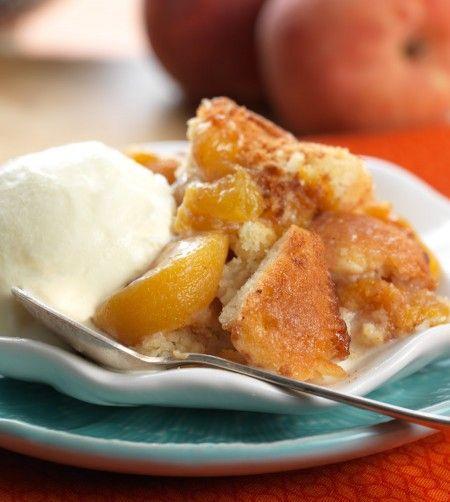 Gluten-Free Peach Cobbler: humble and heavenly: Blog | King Arthur ...