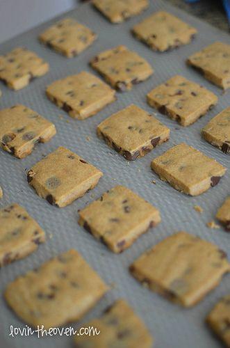 Espresso Chocolate Chip Shortbread Cookies | Recipe