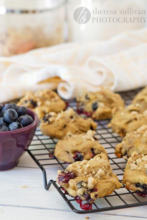 Blueberry Crumb Muffin Cookies | Desserts | Pinterest