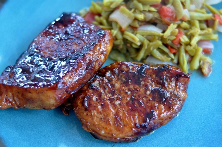 Maple Glazed Pork Chops – And How To Traumatize Your Kids | Recipe